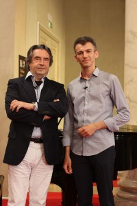 With Riccardo Muti in Ravenna